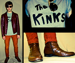 Zac W. - Vintage Leather Jacket, Vintage Boots - No Dice