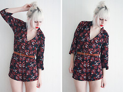 Therese Ahlström - Urban Outfitters Playsuit - SIM SALA BIM