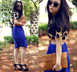 Michelle Koesnadi - Vobee Top, Vobee Skirt, Louis Vuitton Shoes, Hermës Bag, Mango Belt - STUCK in 50s