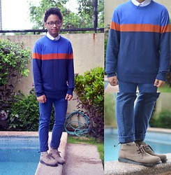 CP Garcia - Forever 21 Sweater, Sm Dept Store Shirt, Topman Pants, Dr. Martens Shoes - Sweater weather