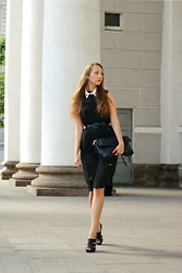 Katerine Shemyakina - Zara Dress, Zara Bag, Mango Belt, Handmade Collar - SPB