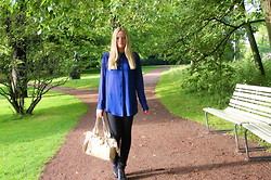 Jennifer Nilsson - Acne Studios Shirt, Chloé Bag - ★ something different about the way you smile ★