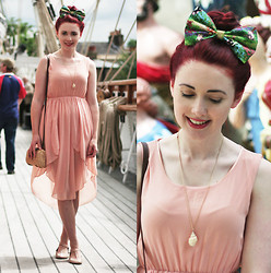 Megan McMinn - Dress, Bambi Bow, Necklace, Asos Shoes - BAMBI BOW.