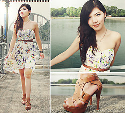 Liana Wibowo - Sugarlips Camelia Dress, Zara Heels - Right here waiting feat Richard Marx