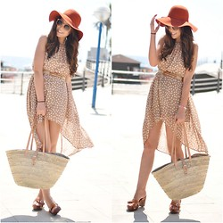 Crris LoveShoppingandFashion - Primark Dress, Market Beach Bag, Lowlita & You Bracelets - Holidays!