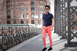 Andy Suryandi - Polo Ralph Lauren, Ben Sherman Chinos, Tom Ford Glassess - On the bridge! alle postings sind unbezahlte Werbung