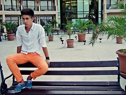 Sebastian Filip - New Yorker Shirt, H&M Porto Pants, Modla Shoes Casual - Starve the ego, feel the soul