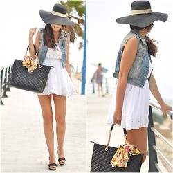 Crris LoveShoppingandFashion - Bershka Dress, Aldo Bag, Primark Hat, H&M Best - Birthday´s Bag
