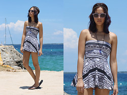 Patricia Prieto - Ray Ban Sunnies, American Apparel Dress - Stare Into the Sun