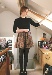 Gracie Fox - Brother Jumper, Asos Dress - Take these broken wings and learn to fly...
