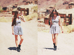 Bethany Struble - In Love With Fashion Skirt, Top - Calico Ghost Town