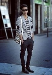 Marwan El - Zara Blazer, Zara Trouze, Mango Shoes, Bsk Bag - Far away..