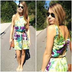 Lisa Maria K - Mango Dress - Tropical dress