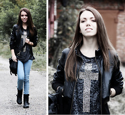 Nastia Nastia - New Look Top, Pull & Bear Jeans, Bershka Boots - Visit my blog ;)))