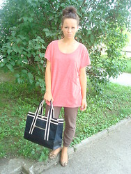 Paulina Witka - My Project, New Look, House, Mango, New Look - Mango bag
