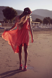 Nina M. - In Love With Fashion Dress, In Love With Fashion Flower Headband, Ted Baker Shoes - Summer dreams....