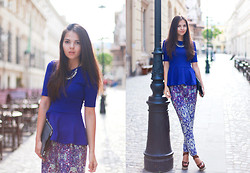 Doina Ciobanu - H&M Chaotic Print, Yves Saint Laurent Sandals - SAY GOOD-BYE TO SUMMER