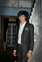 David Smale - Topman Blazer, Topman Dress Shirt, Topman Trousers - Cocktail Party