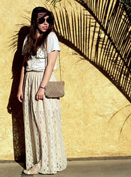 Bianca M. Pinotti - Gap Diy Studded Pocket, Czarina (Vintage) Classic, Diy Long Lace Skirt - Summer Paradise