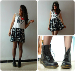 Corona Australis - ? Skirt, Gifted Hat, Dr. Martens Docs - Monsters & Men