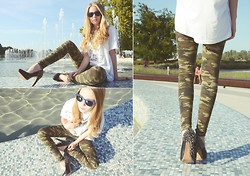 Sophie Marie D. - Sam Edelman, Zara, Noname, Ray Ban Rayban, See More On Blogspot - VARSOVIE - BRODKA