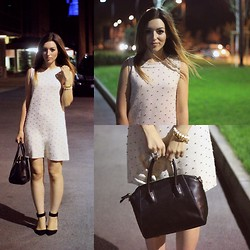 Ana Karadzole - Asos Dress, Zara Heels, Bag, Asos Ring, Spike Bracelet - Buro247 Party