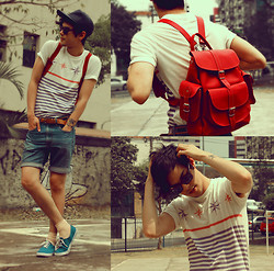 Vini Uehara - Amp A Mulher Do Padre T Shirt, Grafea Leather Rucksack By - We Are Young