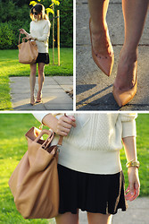 Christine R. - Zara Shoes, Acne Studios Knit, Cos Bag - A while ago