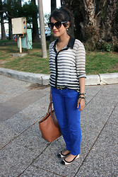 Danivilly Carvalho -  - Royal blue & Stripes!