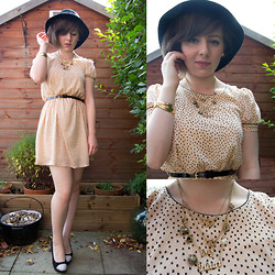Steph Banks - Miss Selfridge Dress, Miss Selfridge Hat, New Look Shoes - Take the key to my heart