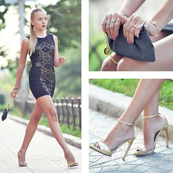 Darya Kamalova -  - RIVETED DRESS