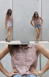 Sabrina N. - Romwe Shirt, Romwe Shorts, Swatch Watch - Nice summer
