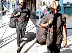 Kadeem Johnson - Bobby Day Shirt, Vintage Shades - Black Minimal