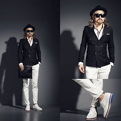 INWON LEE - Byther Blazer, Korea White Pants, Byther Handbag - Fashion is not a word we can totally know,but I try to learn