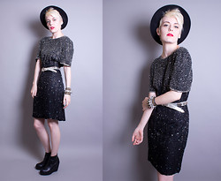 Roxy Starr - Vintage Beaded Dress - Vintage beads