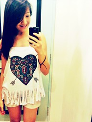 Camille T. - Forever 21 Top - Daydream.