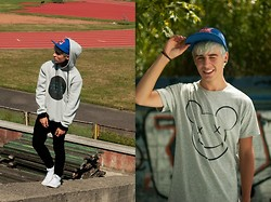Gino Gino - Mint And Pepper Hoodie, Mint And Pepper T Shirt, H&M Full Cap - Mint and pepper.