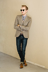 Stay Classic - H&M Tweed Blazer - September 27, 2012.