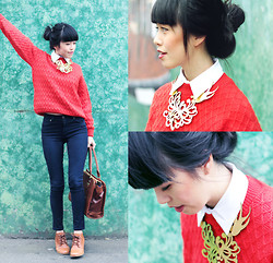 Connie Cao - Vintage Jumper - Casual saturdays