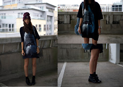 India Rose - Carhartt Beanie, Givenchy Tee, Romwe Bobby Sneakers, American Apparel Backpack - GOOD KID, MAD CITY