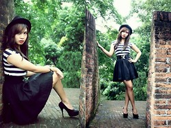 Yza G. - Candies Dress, Primadona Heels - The walled city
