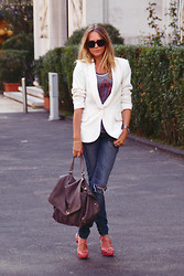 Virginia Varinelli Paris - Zanellato Bag -  White Jacket