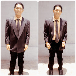 Sigit Saputra - Zara Shirt, Local Brand Black Jenas - Let's go to the party