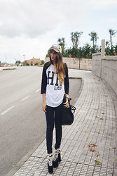 L A - High Heels Suicide College Shirt, Unif Hellbound Shoes - GAMEBALL