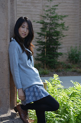 Yuri Lee - Gap Studio Sweater - Sweet layering