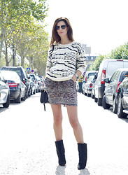 Hedvig ... - Iro Knit, Isabel Marant Dress, Proenza Schouler Bag, Isabel Marant Boots - #180