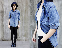 IAN CHEN - Denim Shirt - Denim