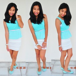 Geraleen Nicole Gaytano - Uniqlo Tunic, Forever 21 Skirt, Solemates Flats, Invicta Watch - 10/05/12