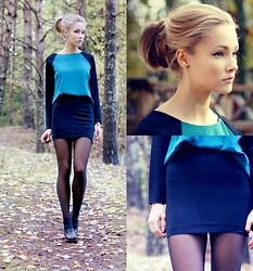 Petra Karlsson - Blouse, H&M Skirt, Shoes - Ice cold
