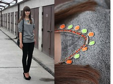 Sylwia M. - House, Zara - 111012 / neon necklace